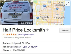 Google+ Profile - Half Price Locksmith